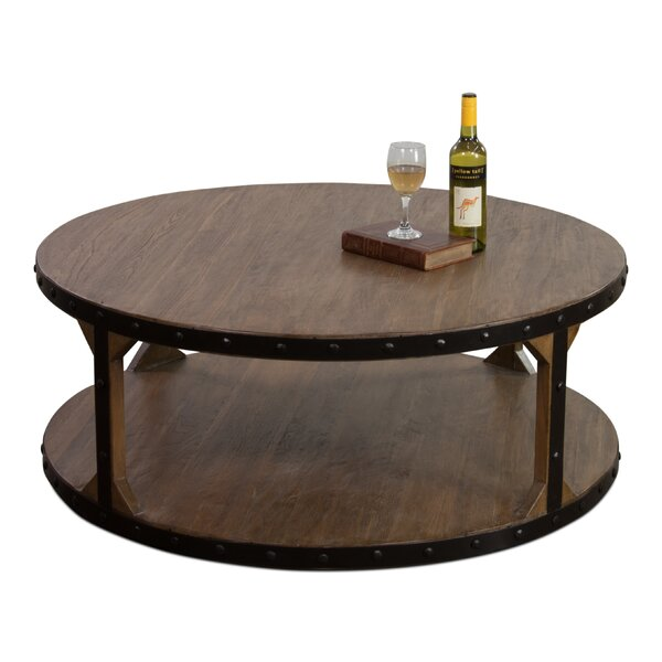 Manley Two-Tier Coffee Table with Tray Top by 17 Stories