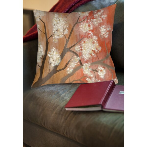 Mandarin Mist 1 Printed Throw Pillow by Manual Woodworkers & Weavers