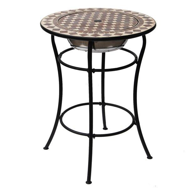 Brinkerhoff Stone/Concrete Bar Table by Freeport Park Freeport Park