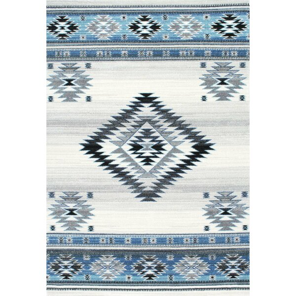Rosebud Aqua Area Rug by Loon Peak