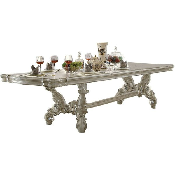 Roza Trestle Extendable Dining Table by Astoria Grand