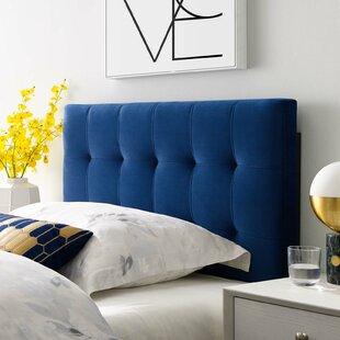 Corneau Upholstered Panel Headboard by August Grove
