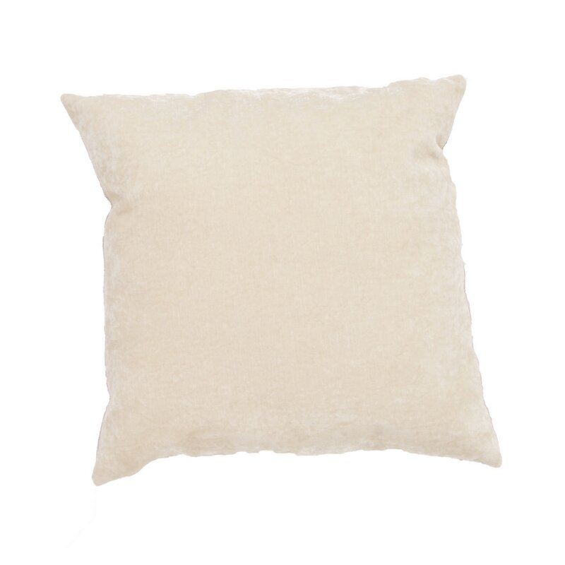 Capucina Solid Throw Pillow