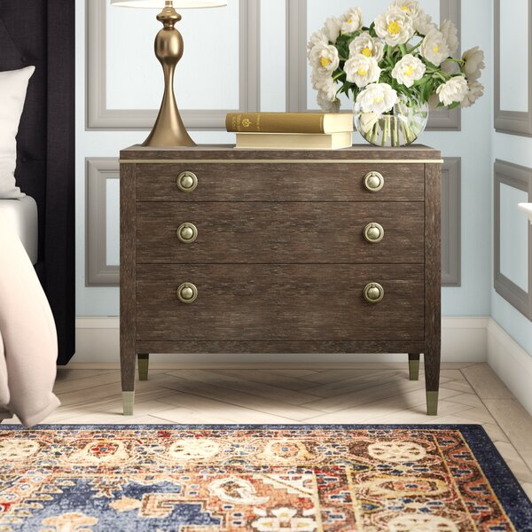 Clarendon 3 Drawer Bachelors Chest by Bernhardt