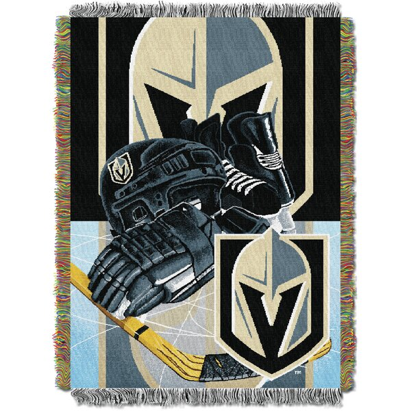 NHL Golden Knights Throw by Northwest Co.
