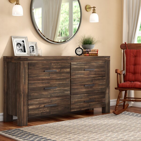 Palo Alto 6 Drawer Double Dresser by Loon Peak