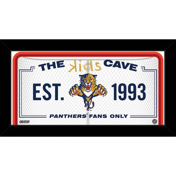 Kids Cave Framed Graphic Art by Steiner Sports