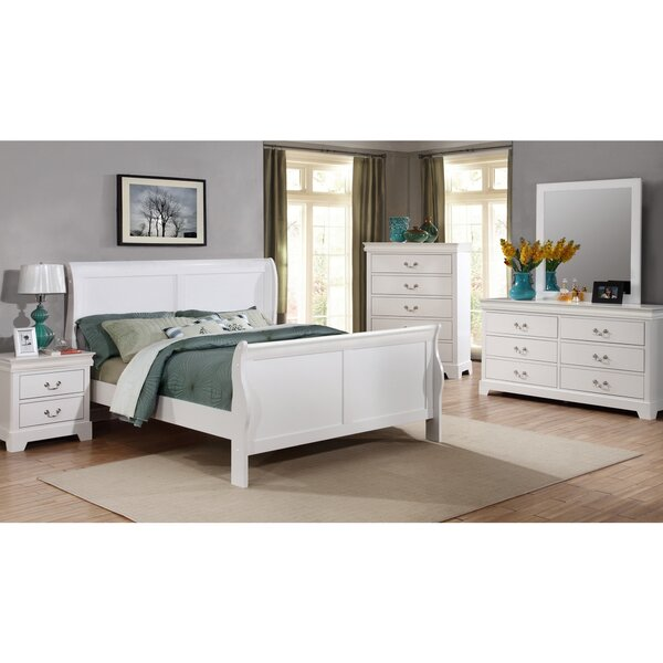 Julie Queen Sleigh 5 Piece Bedroom Set by Alcott Hill