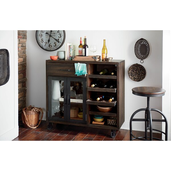 Evie Trolley Bar Cabinet by Williston Forge Williston Forge