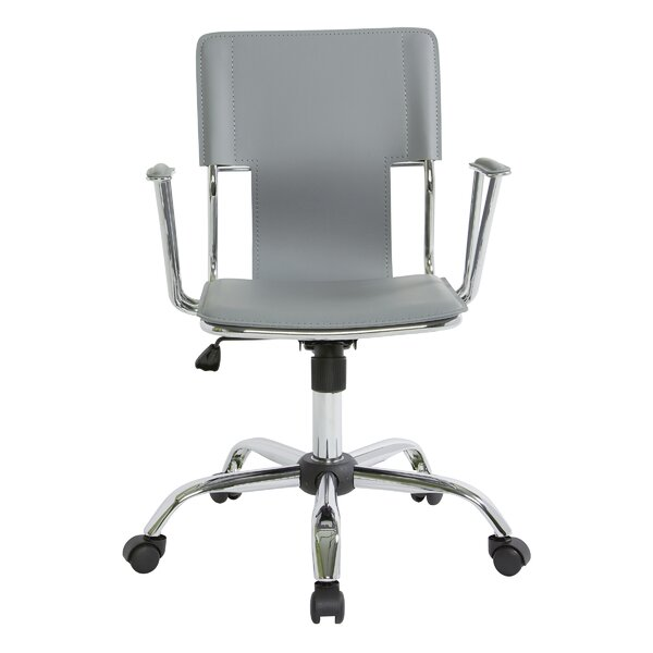 Arlingham Mid-Back Desk Chair by Wrought Studio