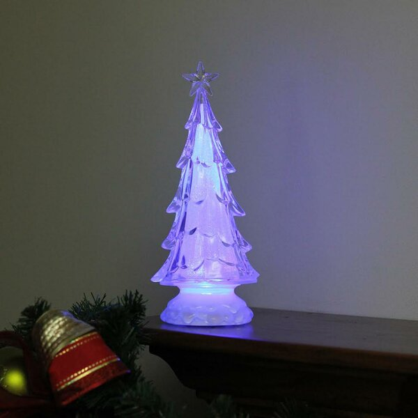 LED Lighted Tree with Star Topper Christmas Decoration Lamp by Alcott Hill