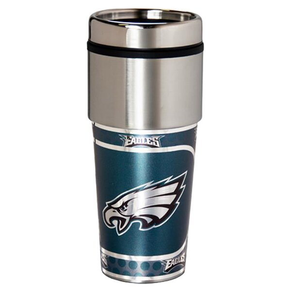 NFL Eagles Thermal 17 oz. Stainless Steel Travel Tumbler by JDS Personalized Gifts