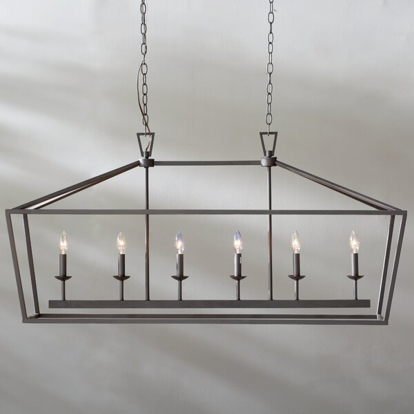 Carmen 6-Light Kitchen Island Pendant by Laurel Foundry Modern Farmhouse