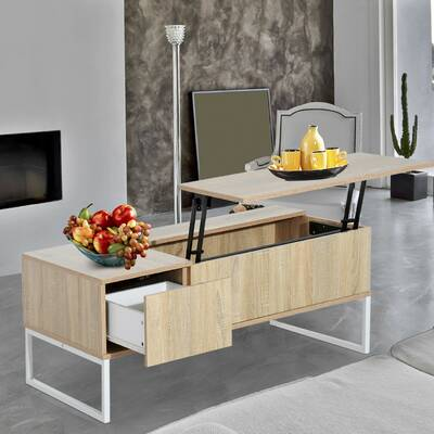 Modern Lift Top Coffee Table With Storage