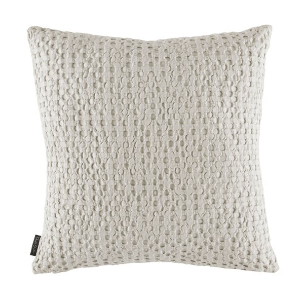 Thayer Pumice Throw Pillow by DwellStudio