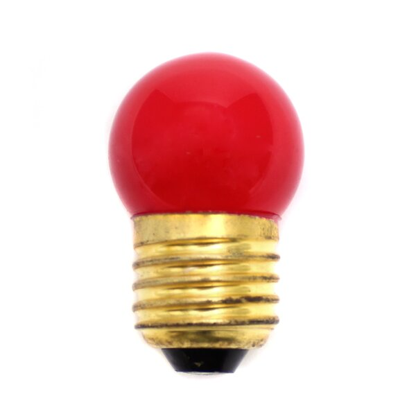 40W Red Halogen Light Bulb by LumiSource