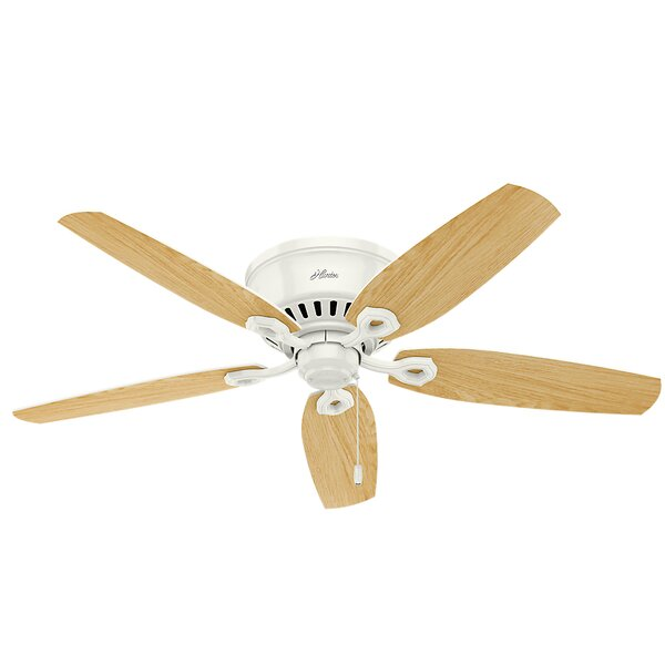 52 Builder Low Profile 5-Blade Ceiling Fan by Hunter Fan