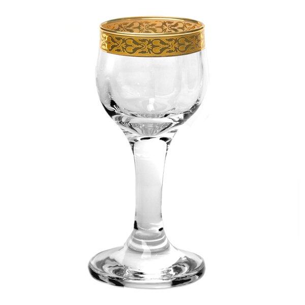 Venezia 2 oz. Crystal Liqueur Glass (Set of 4) by Lorren Home Trends