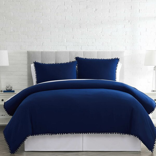Brunelle Classic Pre-Washed Fabric Duvet Cover Set