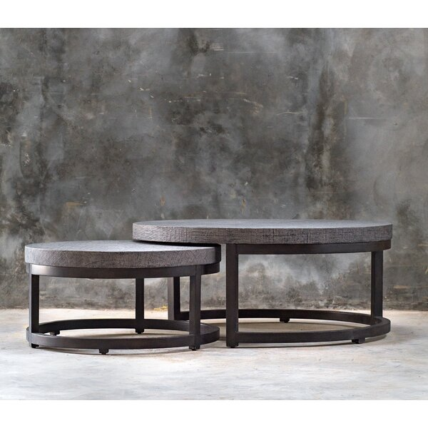Violetta 2 Piece Nesting Tables by 17 Stories
