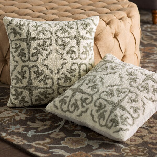 Portia Hooked Pillow (Set of 2) by Birch Lane™