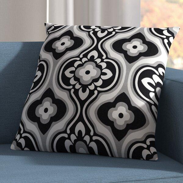 Murrin Blossom Cotton Throw Pillow Cover by Ebern Designs