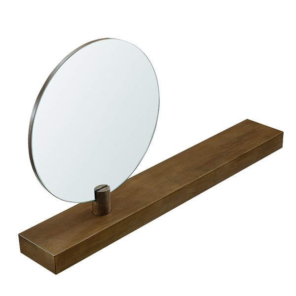Sandi Wall Mount Mirror Floating Shelf By Brayden Studio