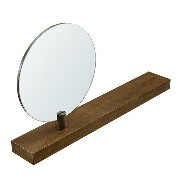 Sandi Wall Mount Mirror Floating Shelf by Brayden Studio