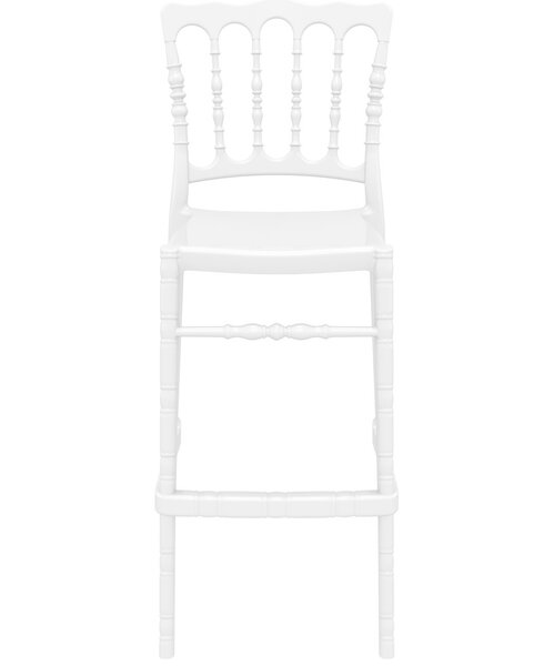 Bellflower Polycarbonate 29.5 Patio Bar Stool (Set of 2) by Mercer41