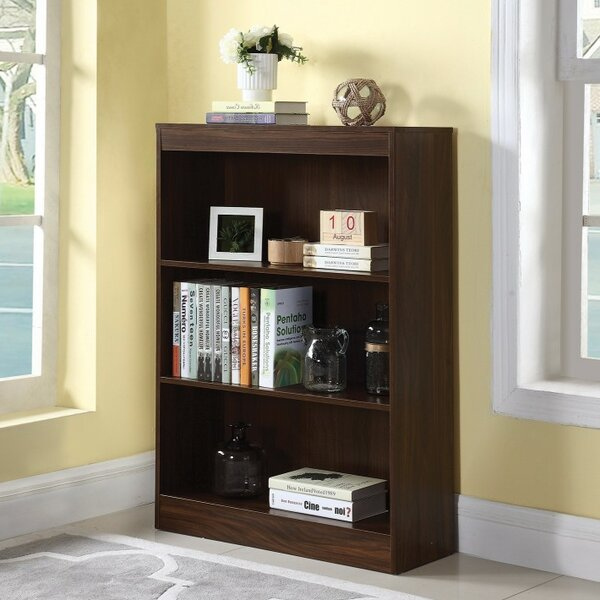 Holdsworth Transitional Wooden Standard Bookcase by Winston Porter