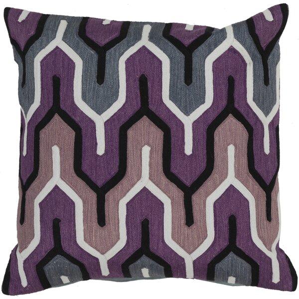 Alamak Modern Throw Pillow by Brayden Studio