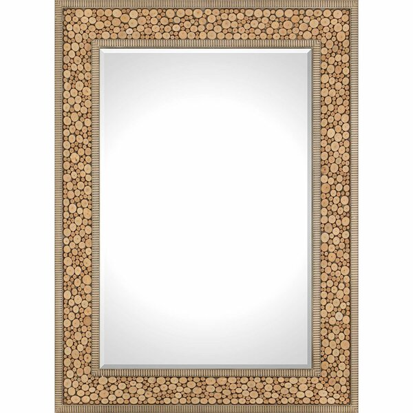 Natural Slice Wall Mirror by Paragon