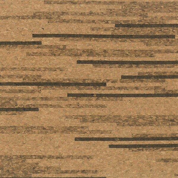 12 Solid Cork Hardwood Flooring in Tigress by APC Cork
