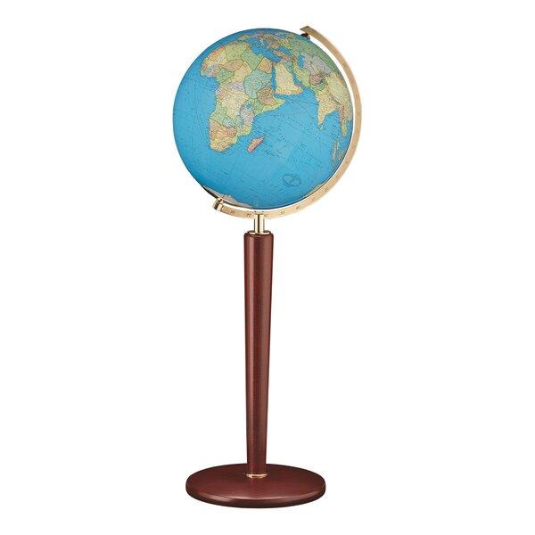 Zurich Illuminated Floor Globe by Columbus Globe