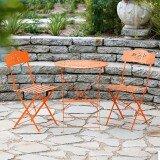 Davisson Floral Outdoor 3-Piece Bistro Set by Winston Porter