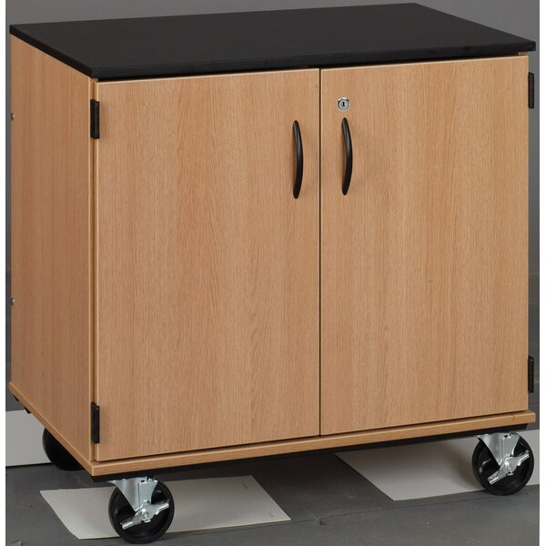 Science Classroom Cabinet with Casters by Stevens ID Systems