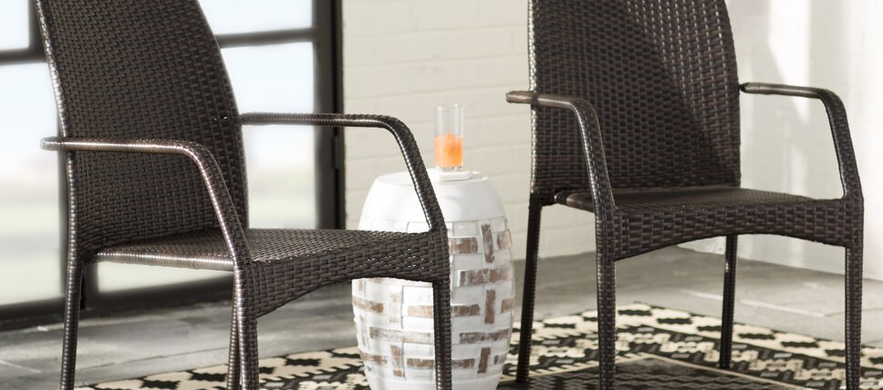Wicker Outdoor Dining Chairs