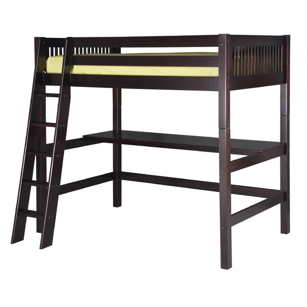 Rabon Twin Loft Bed By Harriet Bee Modern