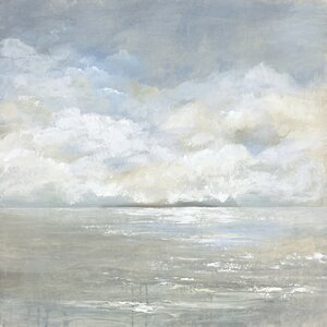'Tranquil Sea II' Print on Wrapped Canvas by Highland Dunes