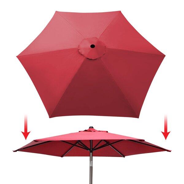 Celine Patio Umbrella Cover by Freeport Park