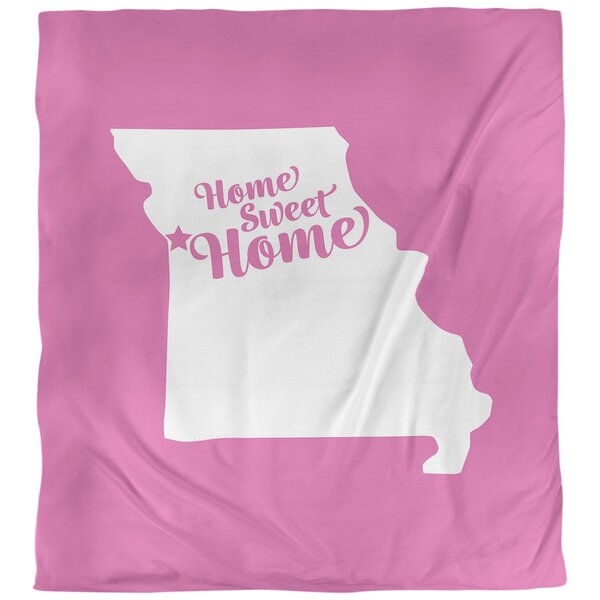 Kansas City Home Sweet Single Duvet Cover