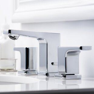Kubos Widespread Bathroom Faucet with Drain Assembly By Speakman