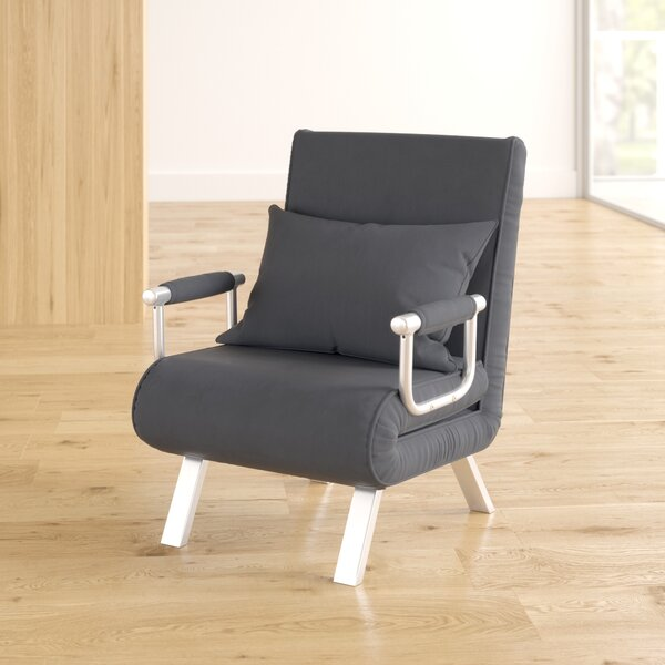 Longoria Convertible Chair by Ebern Designs Ebern Designs