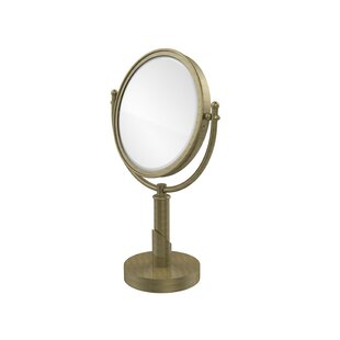 Inexpensive Soho Table Mirror with Magnification By Allied Brass