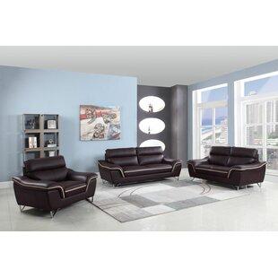 Arik Charming 3 Piece Standard Living Room Set by Orren Ellis