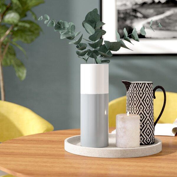 Cylinder Ceramic Vase (Set of 3) by Langley Street