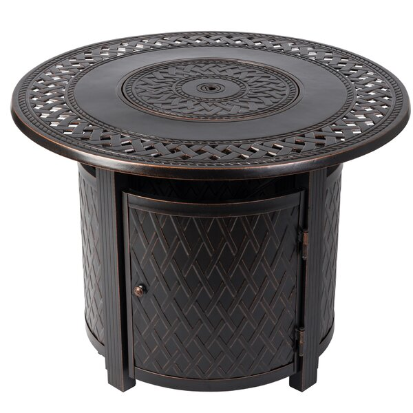 Wagner Aluminum Propane Fire Pit Table By Fire Sense