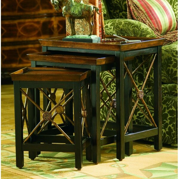 Seven Seas 3 Piece Nesting Tables by Hooker Furniture