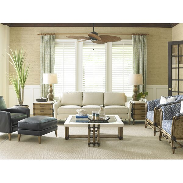 Twin Palms 2 Piece Coffee Table Set by Tommy Bahama Home