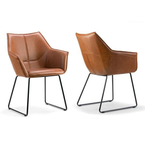 Argyle Upholstered Dining Chair (Set of 2) by Ivy Bronx